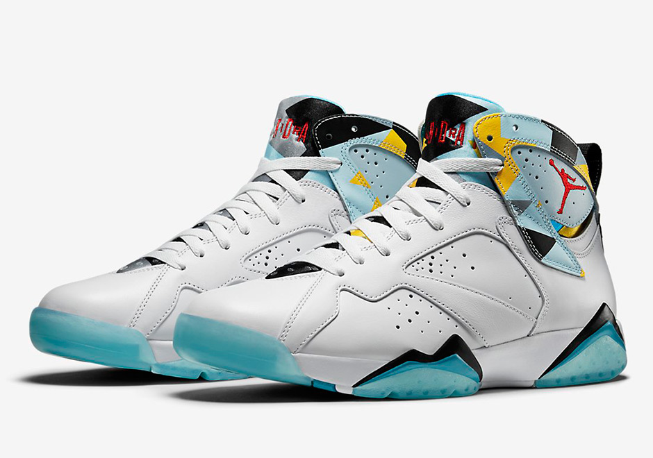 "wholesale dealer b75b4 22ab7 Air Jordan 7 Retro ""N7"" Release Today   The Rap Scene"