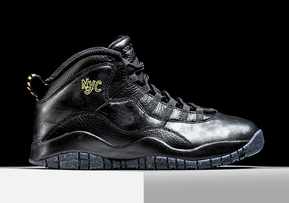 "the latest 4f3f4 aaa70 Air Jordan 10 Retro ""City Pack"" NYC Edition Release Tomorrow ..."